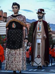 Trobada gegantera de Sant Vicenç de Torelló, 2016