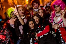 Carnaval de Terra Endins 2016: Senyoretes i Homenots