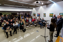Inauguració de la 10a edició de Parelles Artístiques a Vic