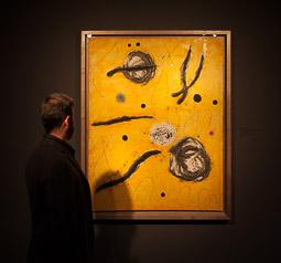 Exposició «116 anys de Pintura Catalana» a Vic La primera espurna del dia II de Joan Miró.