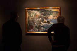 Exposició «116 anys de Pintura Catalana» a Vic La cala encantada de Joaquim Mir.