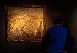 Exposició «116 anys de Pintura Catalana» a Vic Un poble empordanès de Francesc Gimeno.