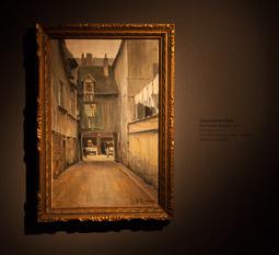 Exposició «116 anys de Pintura Catalana» a Vic Carreró de Rouen de Santiago Rusiñol.