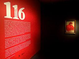 Exposició «116 anys de Pintura Catalana» a Vic Gitana del Mantó vermell de Ramon Casas.