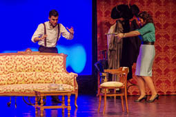 «Els deu negrets» d'Aiguafreda Xerinola Teatre a l'ETC