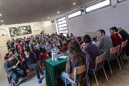 Sant Jordi 2016: Trobada d'escriptors osonencs a l'Institut de Vic