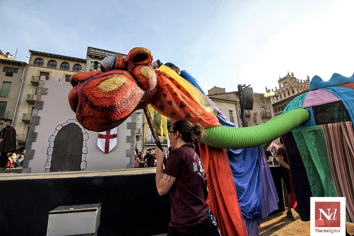 Sant Jordi a Vic