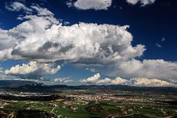 Osona: paisatge i meteorologia (abril 2016)