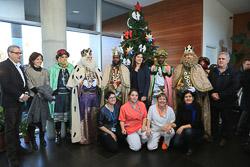 Visita amb els Reis de l'Orient a la Residència El Nadal