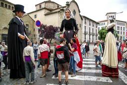 Trobada de gegants del carrer de la Riera