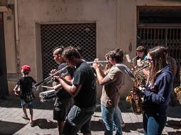 Festa Major de Sant Quirze de Besora 2016: cercavila de gegants