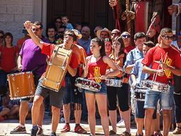 Festa Major de Sant Julià de Vilatorta 2016: trobada gegantera