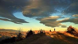 Lluçanès: paisatge i meteorologia (gener 2017)