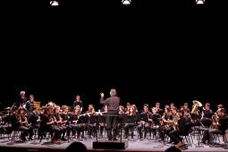 Concert de la Banda Emvic a l'Atlàntida