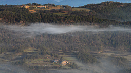 Lluçanès: paisatge i meteorologia (febrer 2017)