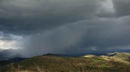 Lluçanès: paisatge i meteorologia (març 2017)