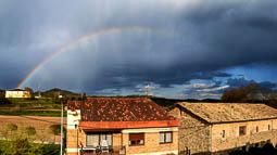 Lluçanès: paisatge i meteorologia (abril 2017)