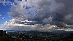 Lluçanès: paisatge i meteorologia (maig 2017)