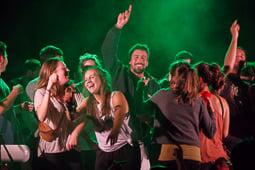 Concert de Greska a les festes del barri de l'Horta Vermella de Vic
