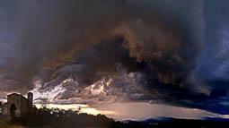 Lluçanès: paisatge i meteorologia (juny 2017)