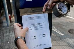 Referèndum 1-O: «Marató per la Democràcia» a Vic