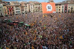 Aturada de país: manifestació a Vic