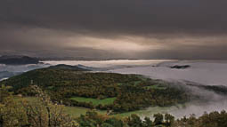 Lluçanès: paisatge i meteorologia (octubre 2017)