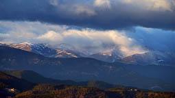 Lluçanès: paisatge i meteorologia (novembre 2017)
