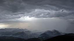 Lluçanès: paisatge i meteorologia (abril 2018)