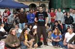 Acampada dels indignats a Vic (dijous)