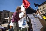 Acampada dels indignats a Vic (divendres)