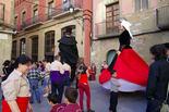 1r aniversari dels gegants del carrer de la Riera