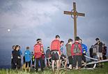 Cronoescalada solidària a la Creu de Gurb