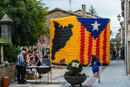 Estelada 3D a Santa Eulàlia de Puig-oriol