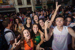 Festa Major de Torelló 2014: Porronada