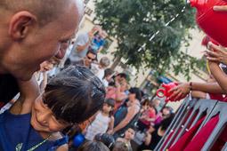 Festa Major de Torelló 2014: Porronada infantil