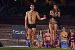 Desfilada de moda a la Festa del Porc i la Cervesa de Manlleu 2014