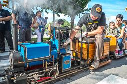 Festa del Tren de Santa Eugènia de Berga 2014