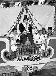 Festes del carrer de Gurb (anys 80)
