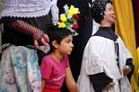 Trobada de gegants a la Festa del barri del Seminari Vell de Vic