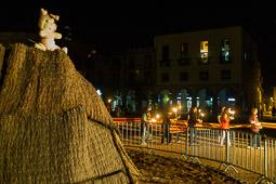 La Flama del Canigó a Manlleu, 2014