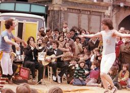Grups d'animació osonencs dels anys 70 i 80 Orquestra Sèmola. Foto: Reay