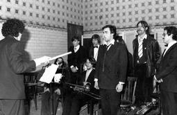 Grups d'animació osonencs dels anys 70 i 80 Orquestra Sèmola. Foto: Carles Molist