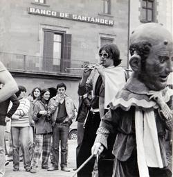 Grups d'animació osonencs dels anys 70 i 80 Orquestra Sèmola. Foto: Manel Anglada Bayés