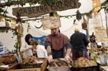 Mercat Medieval de Vic 2009: ambient del diumenge