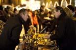 Mercat Medieval de Vic 2009: artesans i brocanters a la plaça Major