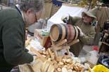 Mercat Medieval de Vic 2009: ambient del dilluns