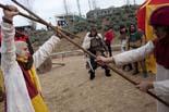 Mercat Medieval de Vic 2009: campament de soldats i almogàvers