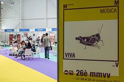 MMVV 2014: Fira del Disc i pavelló comercial Pavelló comercial MMVV.