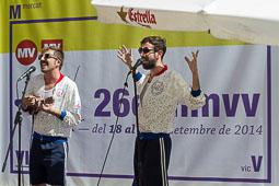 MMVV 2014: Fira del Disc i pavelló comercial Concert de Monsieur Cactus a la terrassa MVLAB.